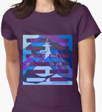 Hexagram 52: Gèn (Immovable) Women's Fitted T-Shirt