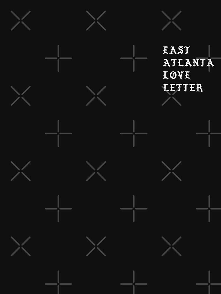 Typographic East Atlanta Love Letter by artworkbyrihen