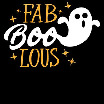 Fab BOO Lous Spooky Halloween Ghost Costume by BUBLTEES