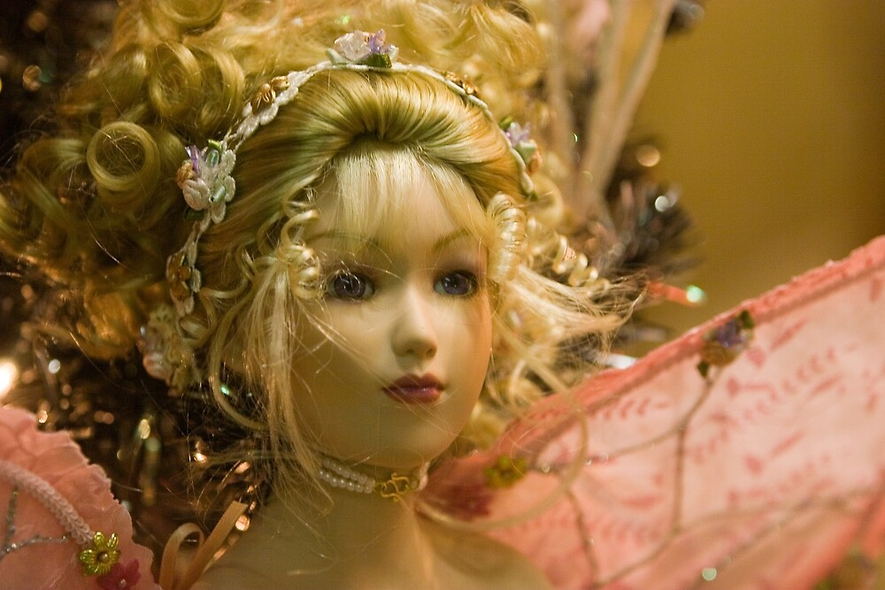 Beautiful Fairy Doll by David Thibodeaux