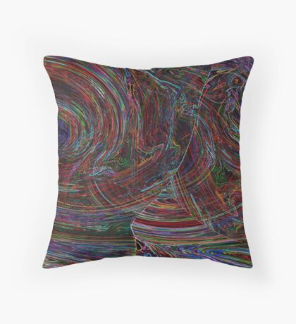 dark desire Throw Pillow