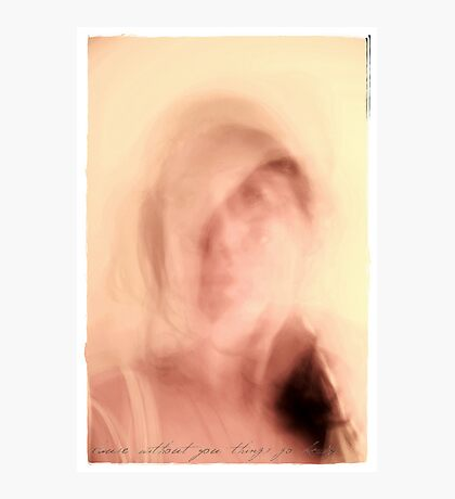 In a haze of pink and pastels... Photographic Print
