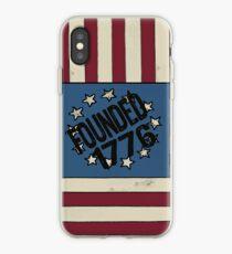 Stars and Stripes 1776 USA Flag design iPhone Case