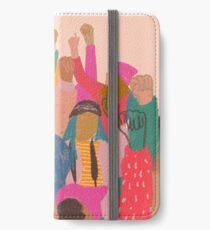 Vinilo o funda para iPhone Marcha femenina