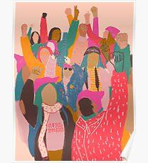 Marche des femmes Poster