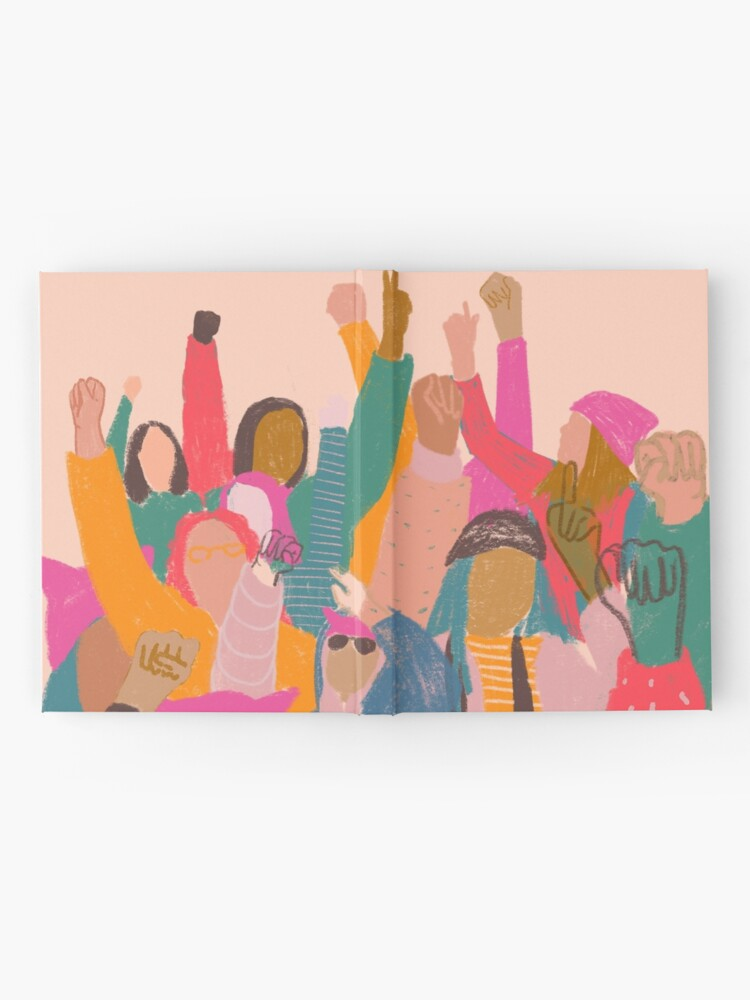 Alternate view of Women's March Hardcover Journal