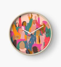 Women's March Clock