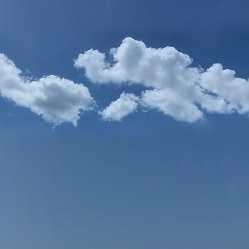 Clouds in the Sky, Blue Clouds by PollysCracker