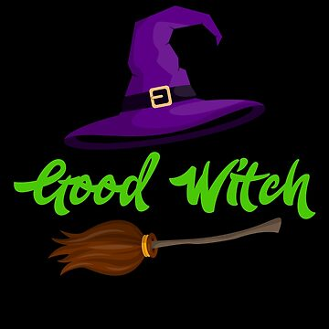 Good Witch Halloween Trick Or Treat by BUBLTEES