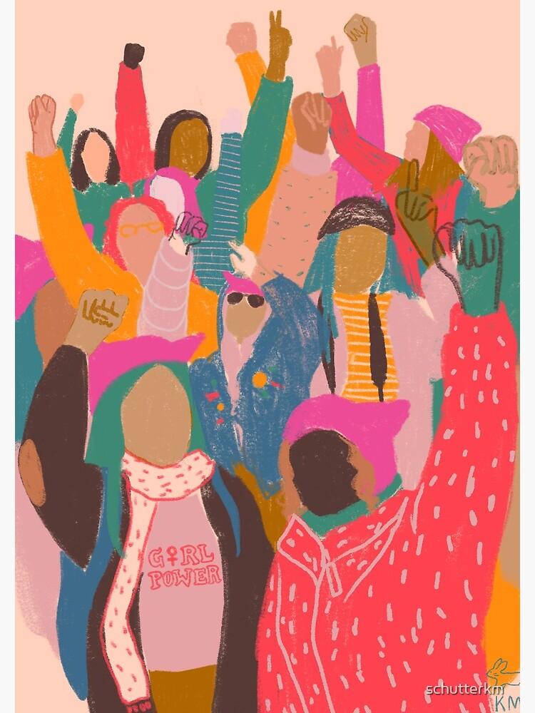 Women's March by schutterkm