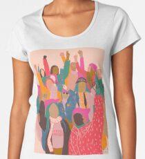 Camiseta premium para mujer Marcha femenina