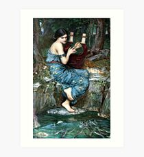 The Charmer - John William Waterhouse  Art Print