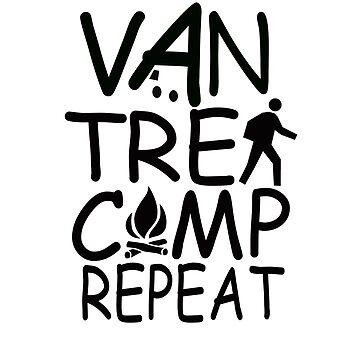Van Trek Camp Repeat by MyLovelyVan