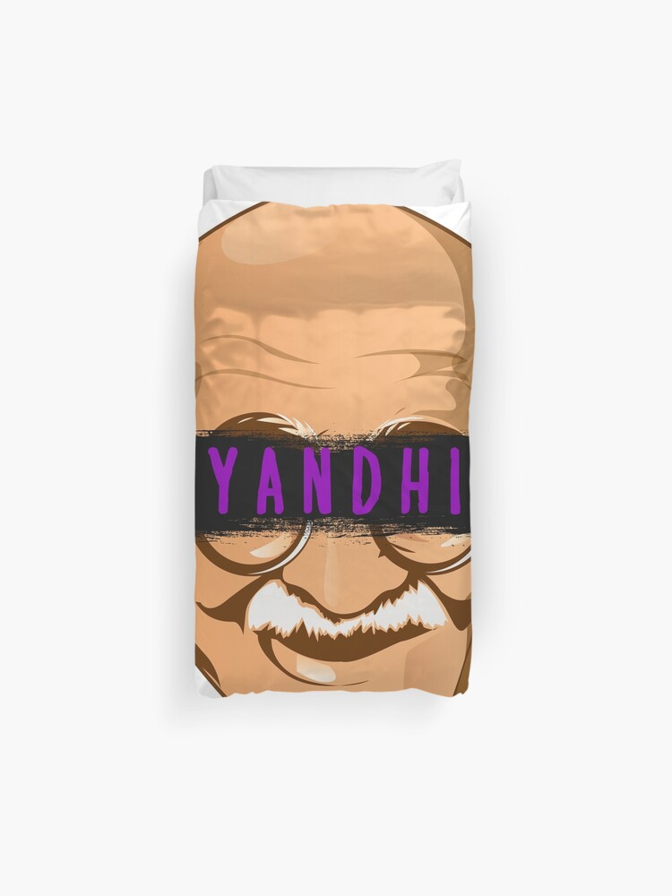 Kanye West Yandhi Gandhi New Album Yeezus Ye   Duvet Cover