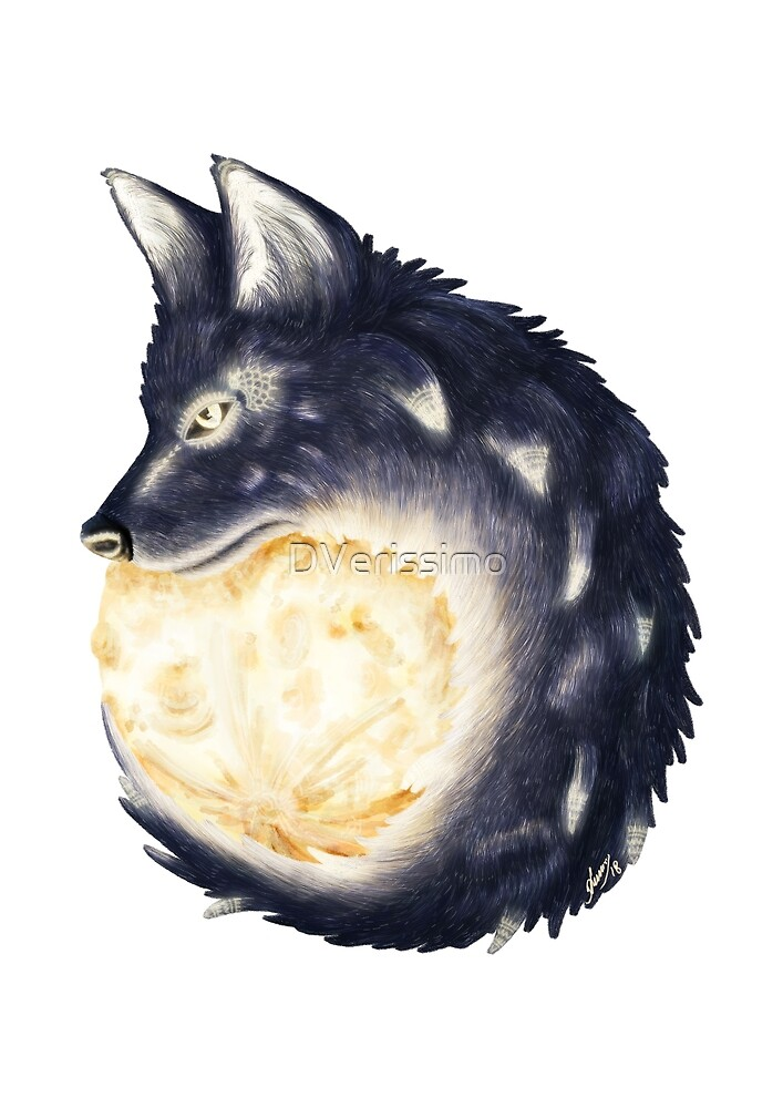 Moon Wolf by DVerissimo