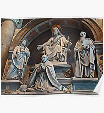 St Peter's Sculptures Poster