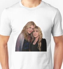Stevie Nicks and Lily Rabe Unisex T-Shirt