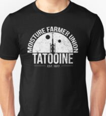 Moisture Farmer Union Unisex T-Shirt