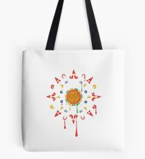Rick and Morty Visit The Mayans Tote Bag