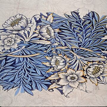William Morris beautiful art nouveau work by love999