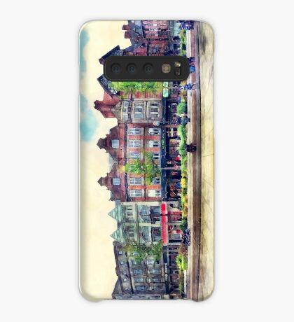 Nottingham panorama city watercolor Case/Skin for Samsung Galaxy