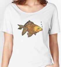 Good Luck Gold Fish  Women's Relaxed Fit T-Shirt