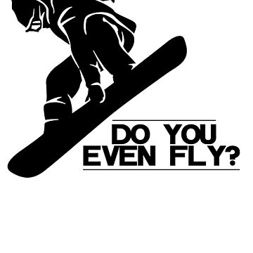 Do you even fly? by design2try