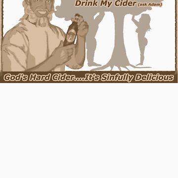 God's Hard Cider Sepia by cameraflash
