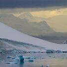 Antarctic Mountains by John Dalkin