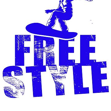 Free style snowboarding by design2try