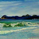 Friendly Beach - Tasmania by Wayne Dowsent