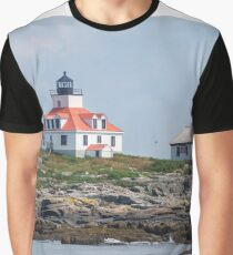 Lighthouses of Maine  Graphic T-Shirt