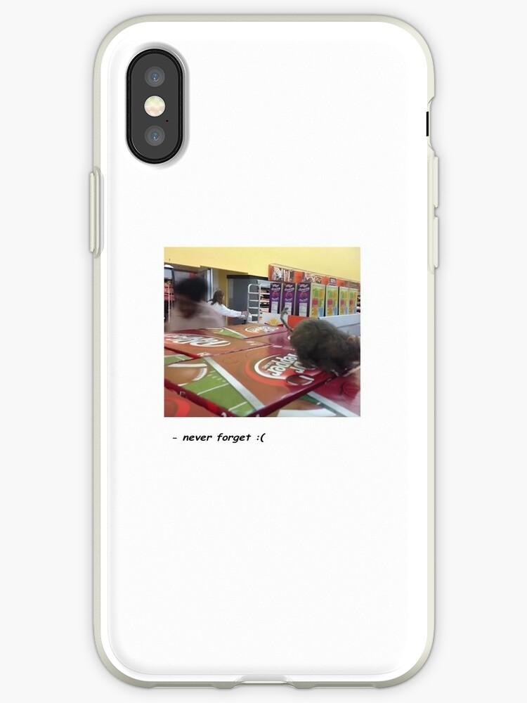 brand new 94183 5e9ce 'Walmart rat prank (huzuu)' iPhone Case by cringe & sims