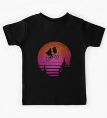 Synthwave E.T. Kinder T-Shirt