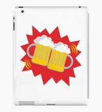 a cozy evening at stoke-on-trent iPad Case/Skin