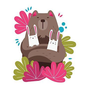 Bears Gotta Hold Bunnies! by TurboRights