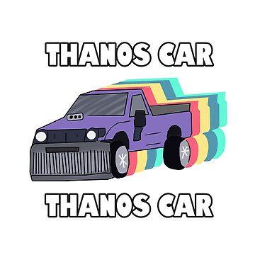 THANOS CAR by Barnyardy