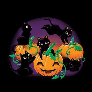 Hello Cat Halloween by tobiasfonseca