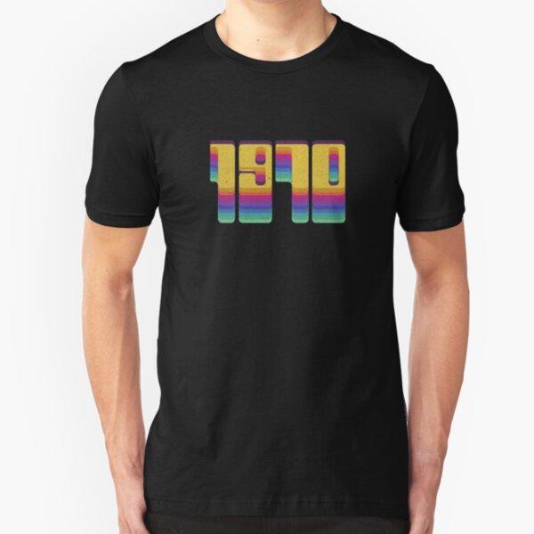 Vintage 1970 Seventies Cool Retro Style Clothing Slim Fit T-Shirt