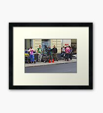 On Location Framed Print