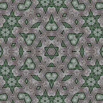Geometric patchwork 20 by fuzzyfox