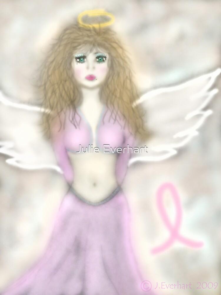 Pink Angel...A reminder angel by Julie Everhart