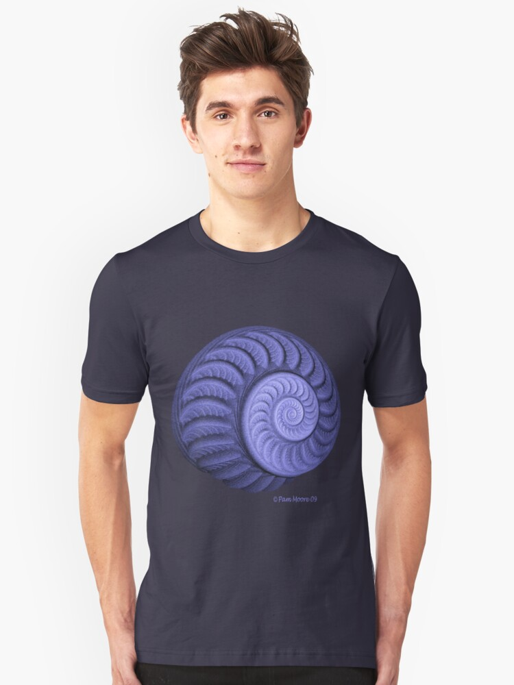 The Purple Spiral Tee Unisex T-Shirt Front