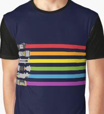 rainbow art Graphic T-Shirt