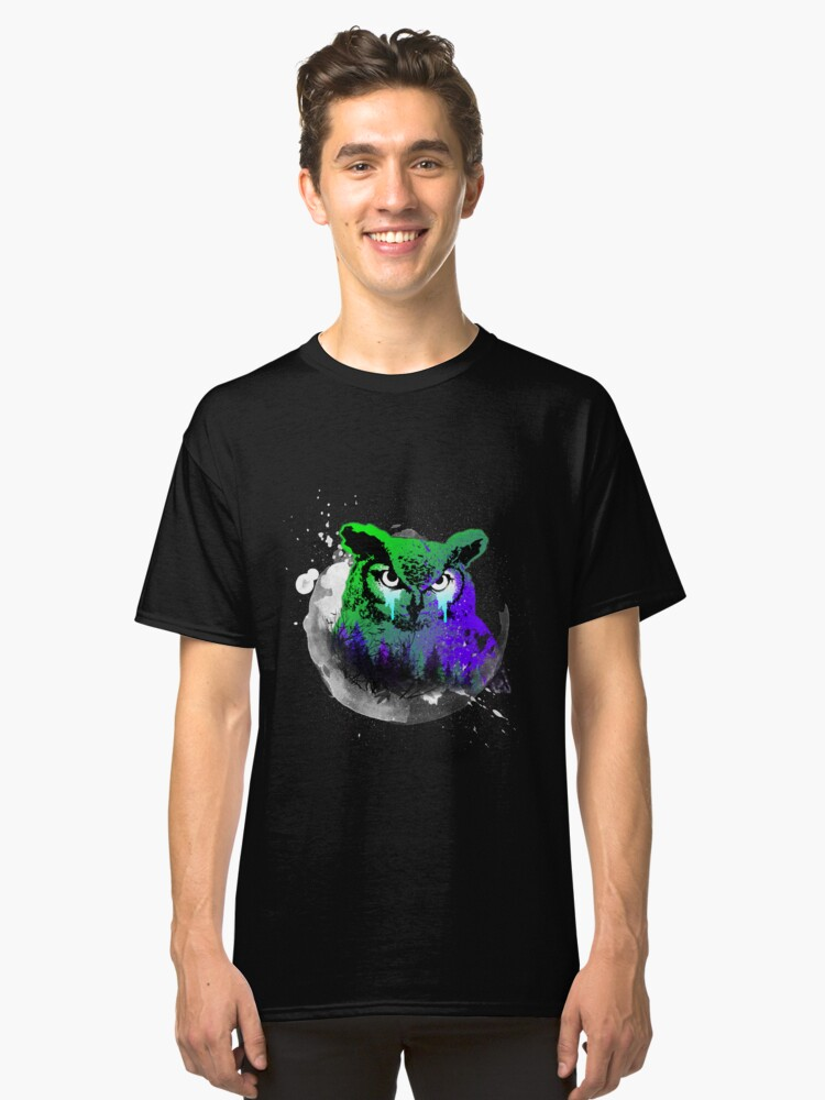 Owl Classic T-Shirt Front