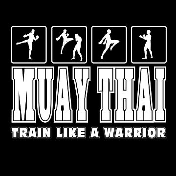 Muay Thai Martial Arts T-shirt and Gifts Muay Thai Fighters by angy2017