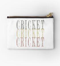 Retro Cricket design Studio Pouch