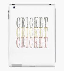 Retro Cricket design iPad Case/Skin