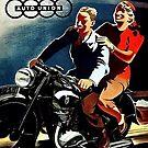 Motorcycle fun...Fabulous fiftees by edsimoneit