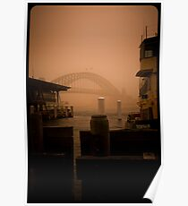 Sydney Dust storm - Friendship Poster